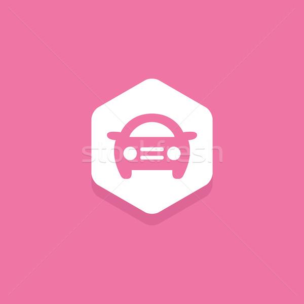 車 六角形 デザイン アイコン すごい ストックフォト © user_11138126