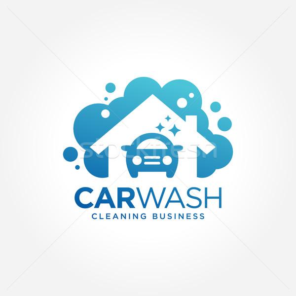 洗車 ビジネス シンボル すごい 実例 ストックフォト © user_11138126
