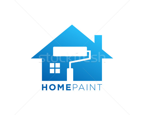 Home repairing, construction industry, paint, plumbing and roof Stock photo © user_11138126