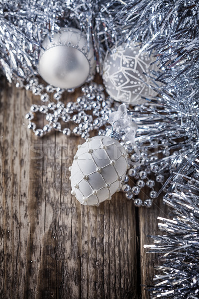 Blanco Navidad nieve invierno Foto stock © user_11224430