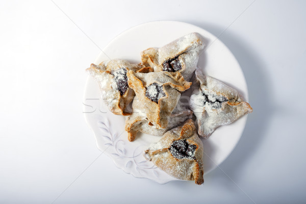 Jewish Pastry Hamantaschen Stock photo © user_11224430