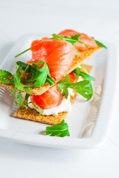 кремом сыра здорового свежие продовольствие Сток-фото © user_11224430