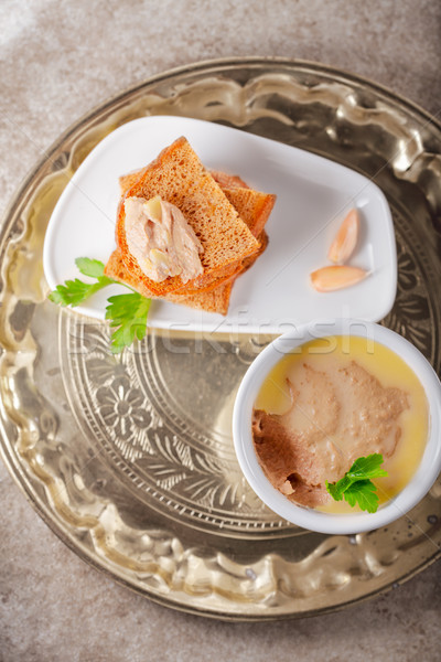 Delicious Chicken Pate Stock photo © user_11224430