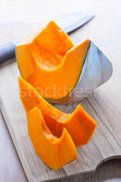 Slices of pumpkin Stock photo © user_11224430