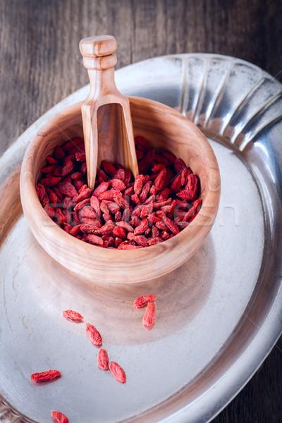 Dried goji berries Stock photo © user_11224430