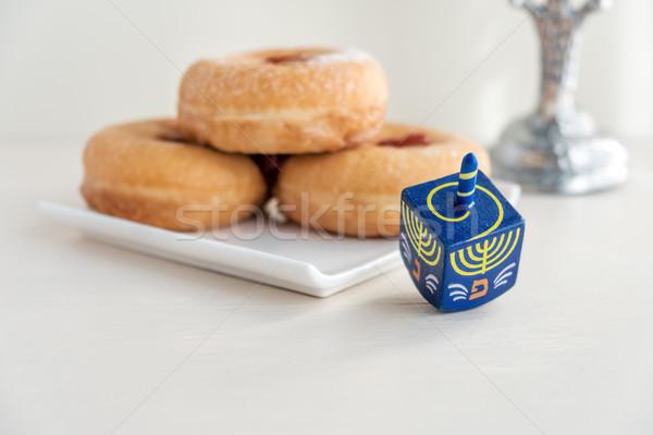 Jewish holiday Hanukkah Stock photo © user_11224430