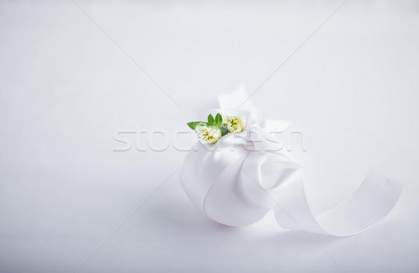 Foto d'archivio: Uovo · fiori · bianco · Pasqua · simboli · fiore