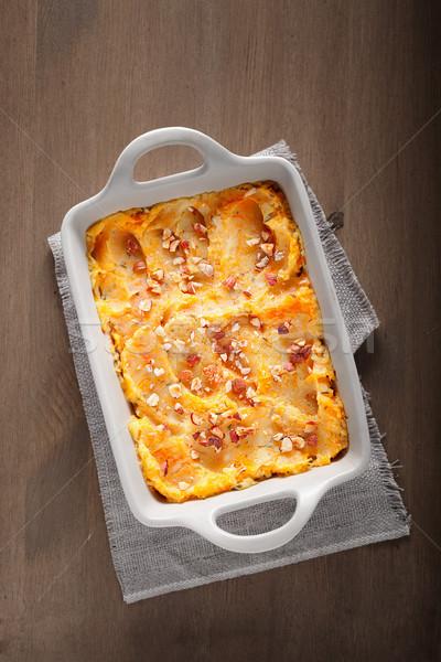 тыква картофель говядины продовольствие мяса еды Сток-фото © user_11224430