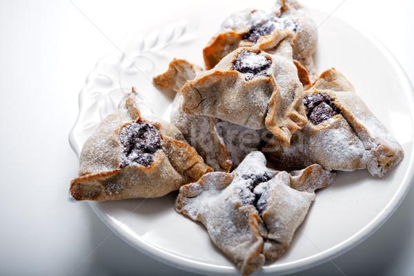 Hamantaschen Cookies for Purim Stock photo © user_11224430