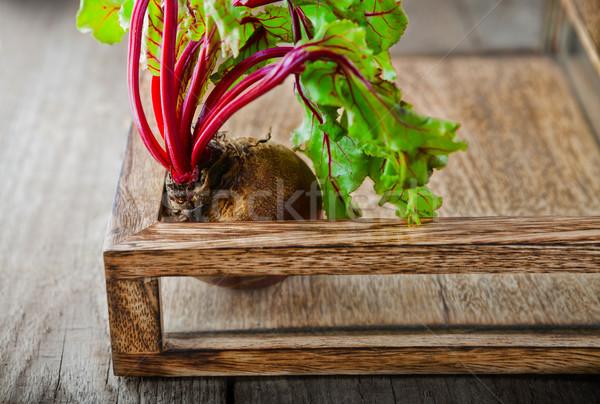 Raw Organic Beet Stock photo © user_11224430