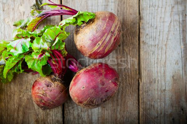 Raw Organic Beets Stock photo © user_11224430