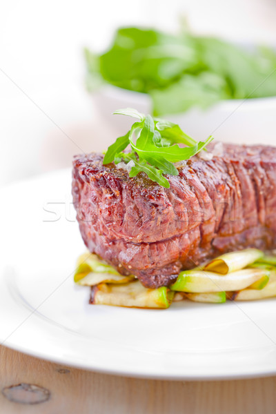 Grilled meat and vegetables  Stock photo © user_11224430