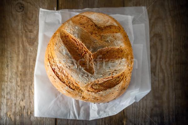Multi grain bread Stock photo © user_11224430