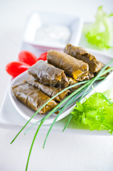 Stuffed Grape Leaves Stock photo © user_11224430
