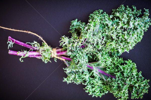 A bunch of fresh Kale salad Stock photo © user_11224430