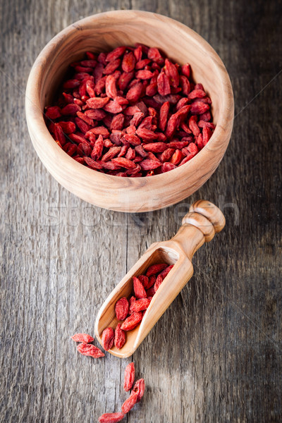 Dried goji berries Stock photo © user_11224430