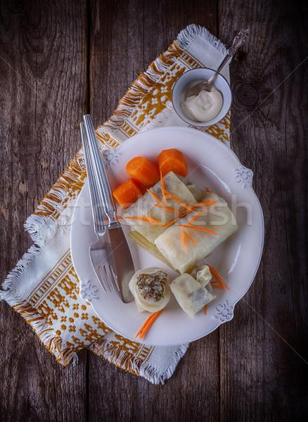 Stuffed Cabbage Rolls Stock photo © user_11224430