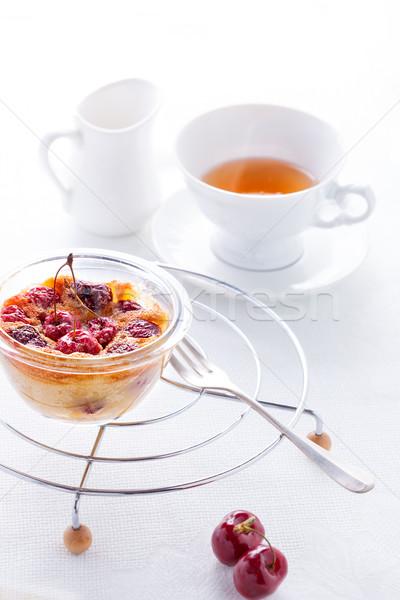 Frutti di bosco Cup tè alimentare frutta bianco Foto d'archivio © user_11224430