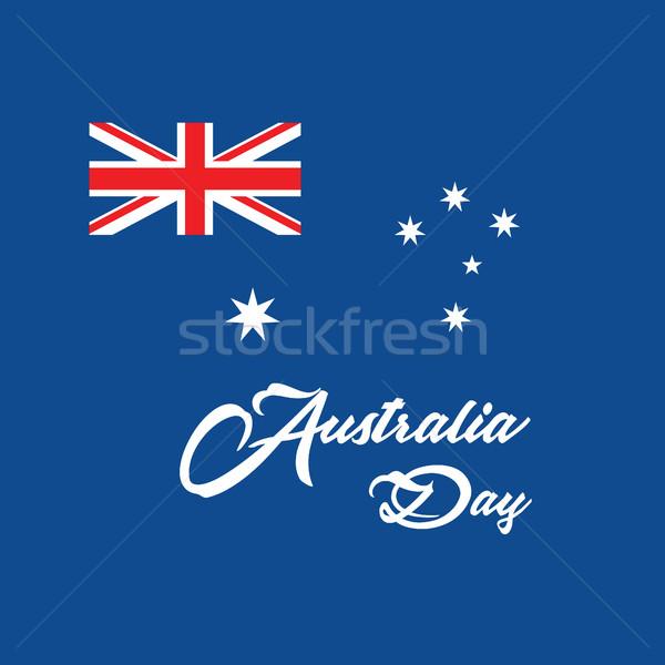 Foto d'archivio: Giorno · carta · bandiera · felice · segno · star