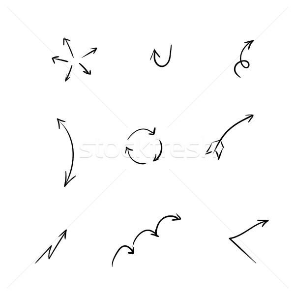 Foto d'archivio: Frecce · isolato · abstract · design · segno
