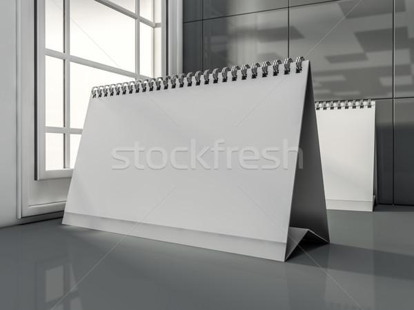 столе календаря современных интерьер 3D Сток-фото © user_11870380