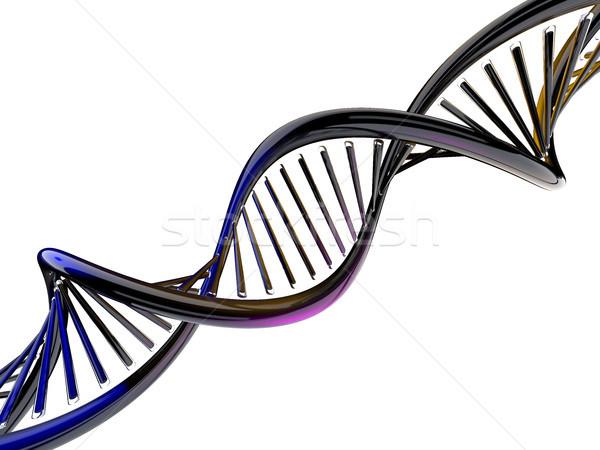 Цифровая иллюстрация ДНК модель 3D медицинской Сток-фото © user_11870380