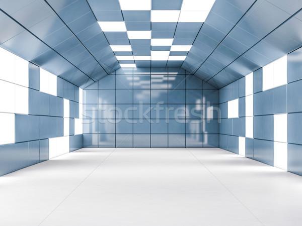 простой пустой комнате интерьер 3D Сток-фото © user_11870380