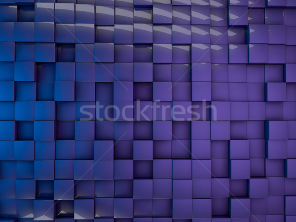 Cube abstract background. Stock photo © user_11870380