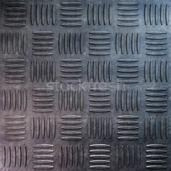 Background of metal with repetitive patten. 3D Stock photo © user_11870380