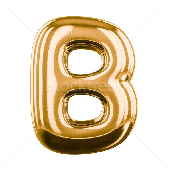 şişme harfler alfabe 3D parti Stok fotoğraf © user_11870380