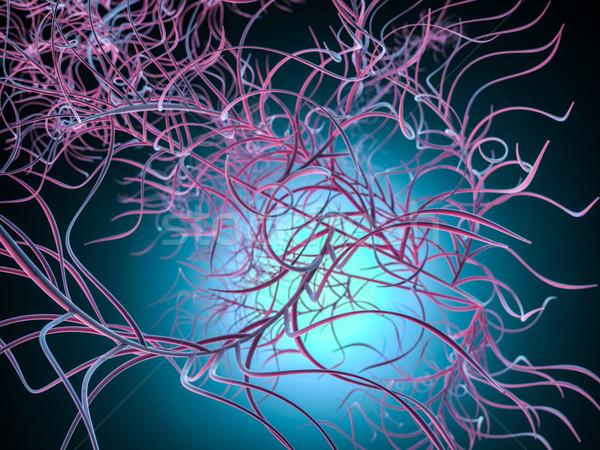実例 生物 薬 科学的な 3D レンダリング ストックフォト © user_11870380