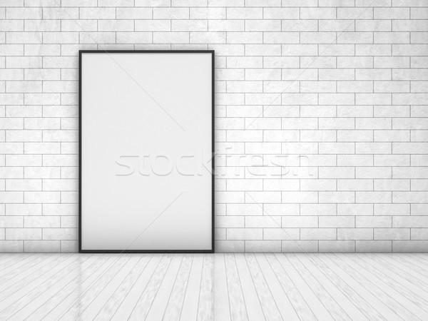 Vázlat poszter keret kép egyszerű jelenet Stock fotó © user_11870380