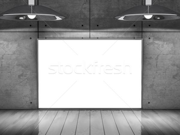 Poster frame afbeelding eenvoudige scène Stockfoto © user_11870380