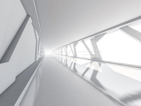 Resumen vacío blanco abierto espacio Foto stock © user_11870380