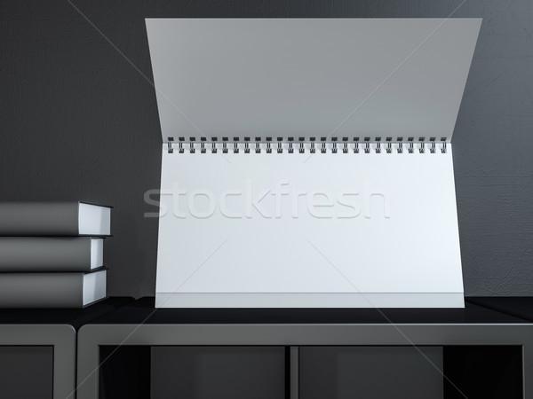 изображение столе календаря 3D Сток-фото © user_11870380