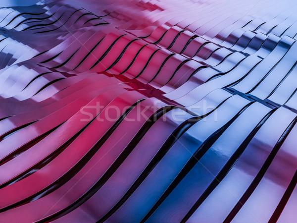 Abstract kleurrijk vorm 3D textuur Stockfoto © user_11870380