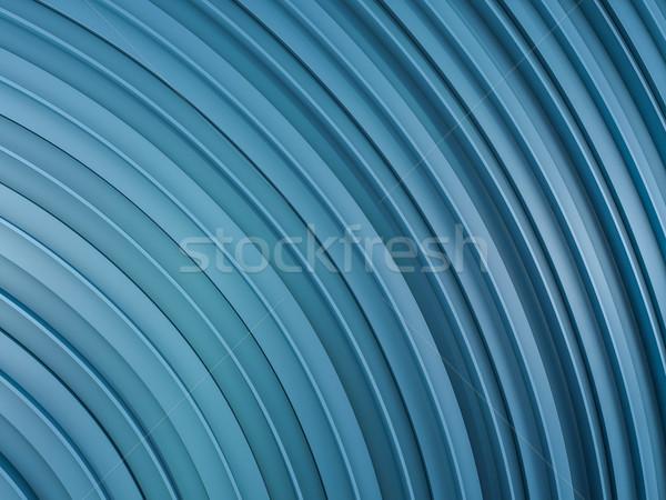 Abstract vorm Blauw 3D textuur Stockfoto © user_11870380