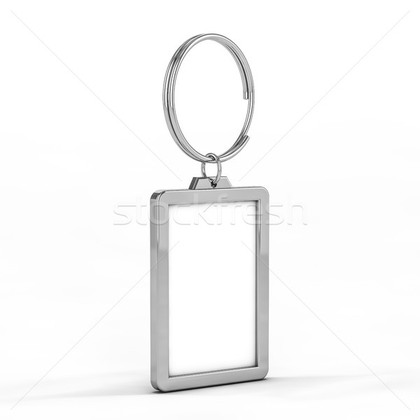 металл 3D иллюстрация кольца Сток-фото © user_11870380