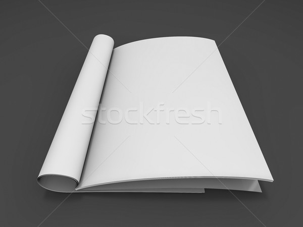 Magazine catalogus tabel 3D Stockfoto © user_11870380