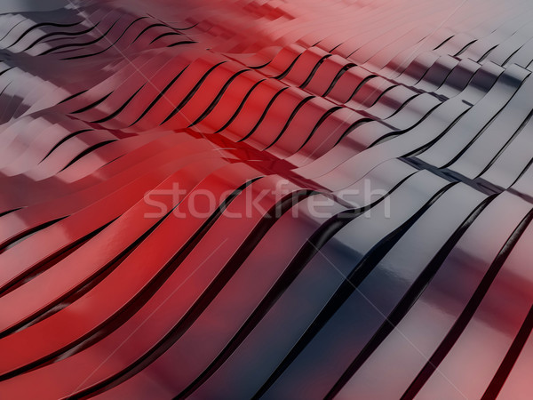 Abstract swirly colorful shape background. 3D Stock photo © user_11870380