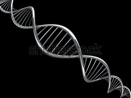 Цифровая иллюстрация ДНК модель 3D науки Сток-фото © user_11870380