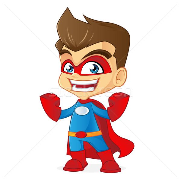 Superhero Stock photo © user_8928535