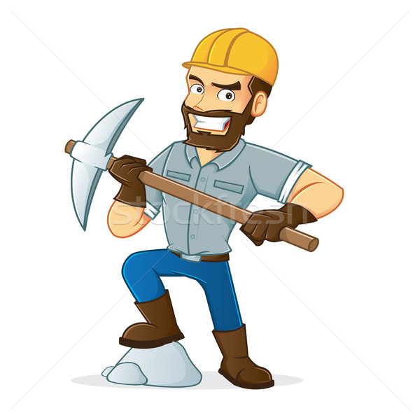Miner Stock photo © user_8928535