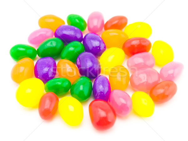Colorful Jelly Beans (White Background) Stock photo © user_9323633