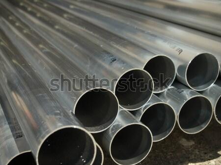 Pipes muitos indústria fábrica Foto stock © user_9323633