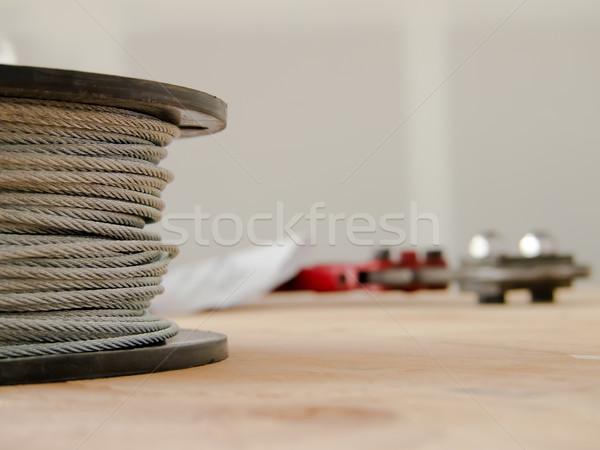 Cabo fundo metal indústria compras industrial Foto stock © user_9323633