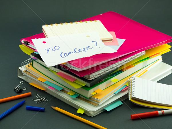 Iş belgeler ofis kitap Stok fotoğraf © user_9323633