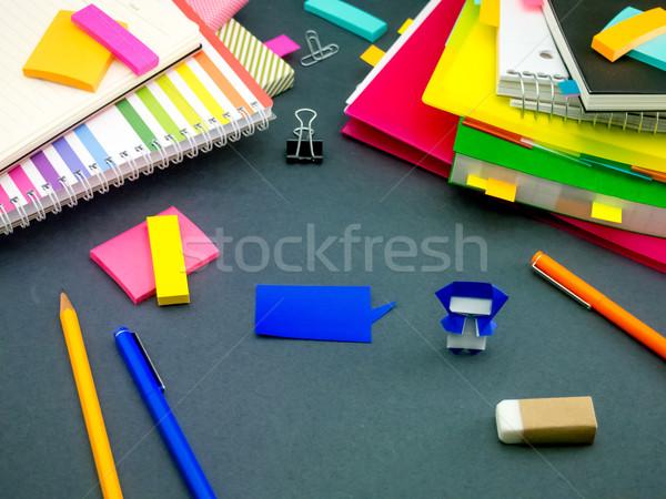 Weinig origami helpen werk slapen kantoor Stockfoto © user_9323633