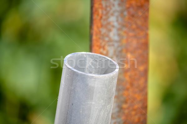 Boru sanayi depo mekanik Stok fotoğraf © user_9323633