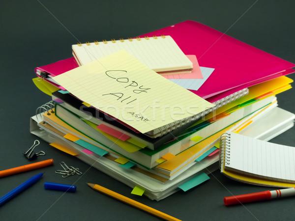 Negócio documentos copiar escritório Foto stock © user_9323633